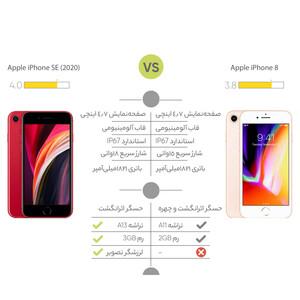 گوشی موبایل اپل مدل  iPhone SE 2020 A2275 ظرفیت 64 گیگابایت