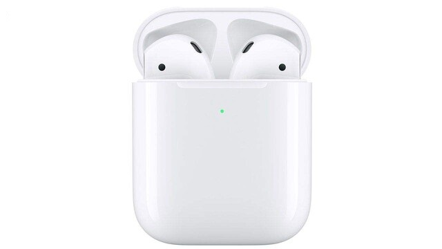 هدفون بی سیم اپل مدلAirPods 2 wirelees charging  همراه با محفظه شارژ بیسیم