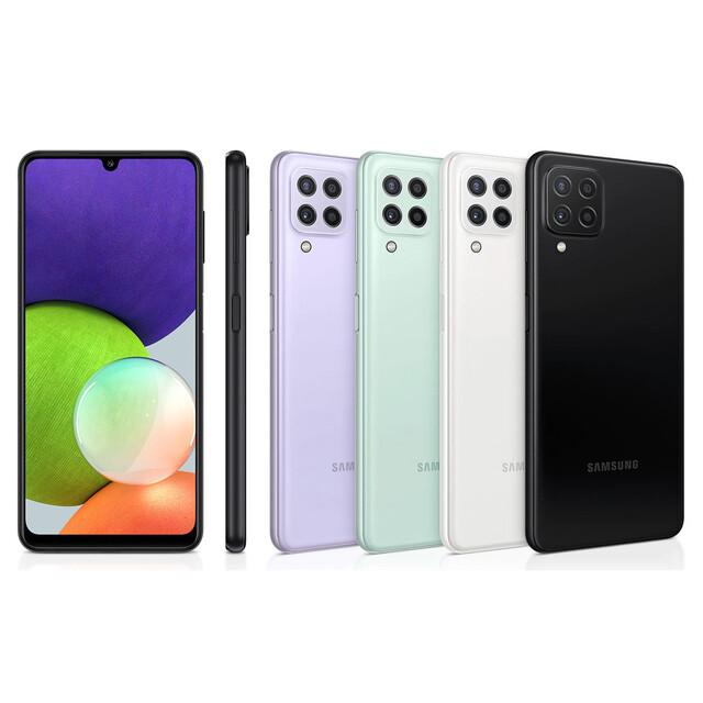گوشی موبایل سامسونگ مدل Galaxy A22 SM-A225F/DSN دو سیم کارت ظرفیت 128 گیگابایت و رم 4 گیگابایت