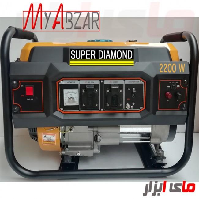 موتور برق دیاموند 2.2 کیلووات مدل SUPER DIAMOND LT-2500