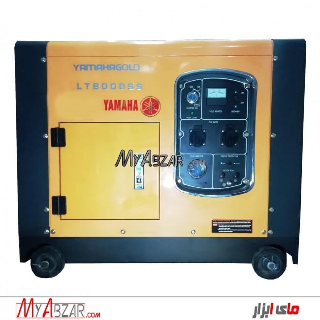 موتور برق یاماها 7.5 کیلووات مدل YAMAHA 8000-SS