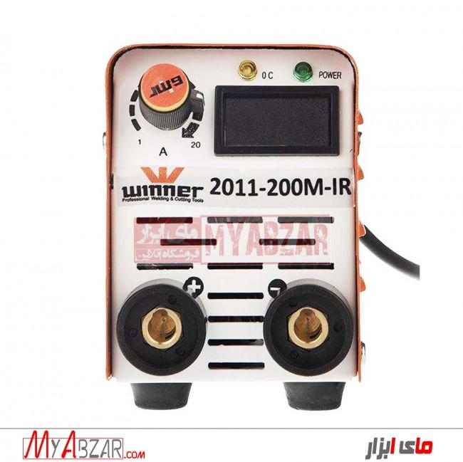 دستگاه جوش 200 آمپر وینر مدل LIGHT-2011-200M