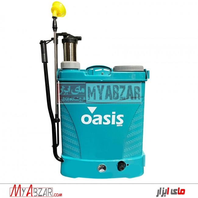 سمپاش دوکاره شارژی-دستی 20 لیتری اوسیس oasis