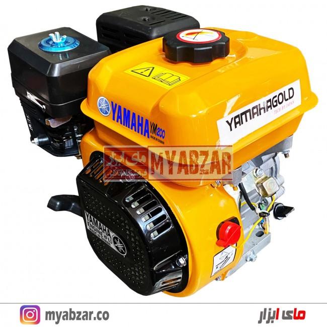 موتور تک بنزینی یاماها 6.5 اسب مدل YM-200