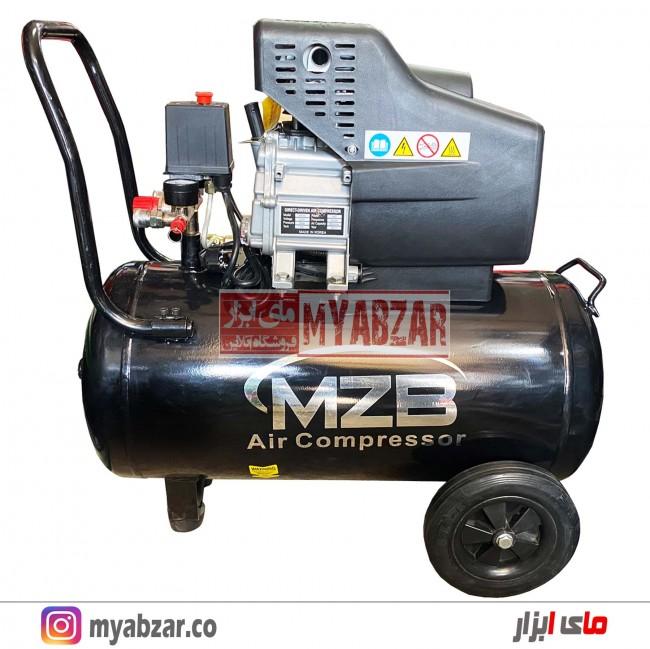 کمپرسور هوا 50 لیتری MZB کره مدل MZB BM-50