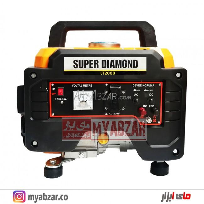 موتور برق 1 کیلووات دیاموند مدل SUPER DIAMOND LT2000