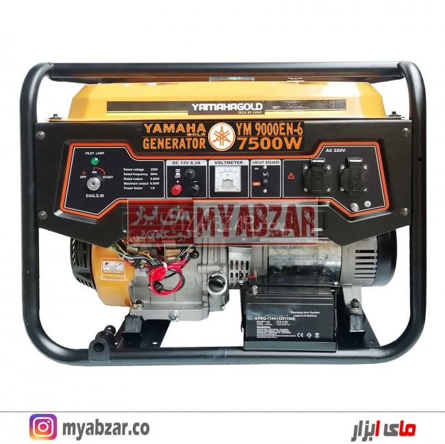 موتور برق یاماها 7.5 کیلووات مدل YAMAHA YM-9000