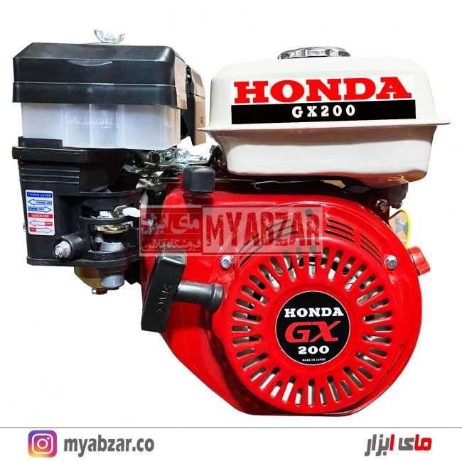 موتور تک بنزینی 6.5 اسب هوندا تایلندی مدل GX200 (هواکش روغنی)