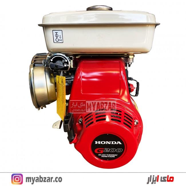 موتور تک بنزینی هوندا 6.5 اسب مدل G 200 هندی