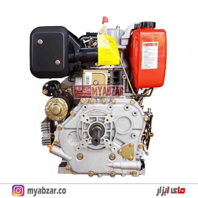 موتور تک دیزلی استارتی کاما 9.5 اسب مدل KAMA KM186FE