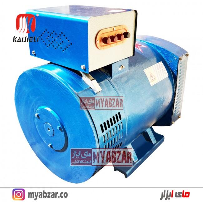 ژنراتور 15 کیلووات تکفاز و سه فاز کایجلی kaijieli generator