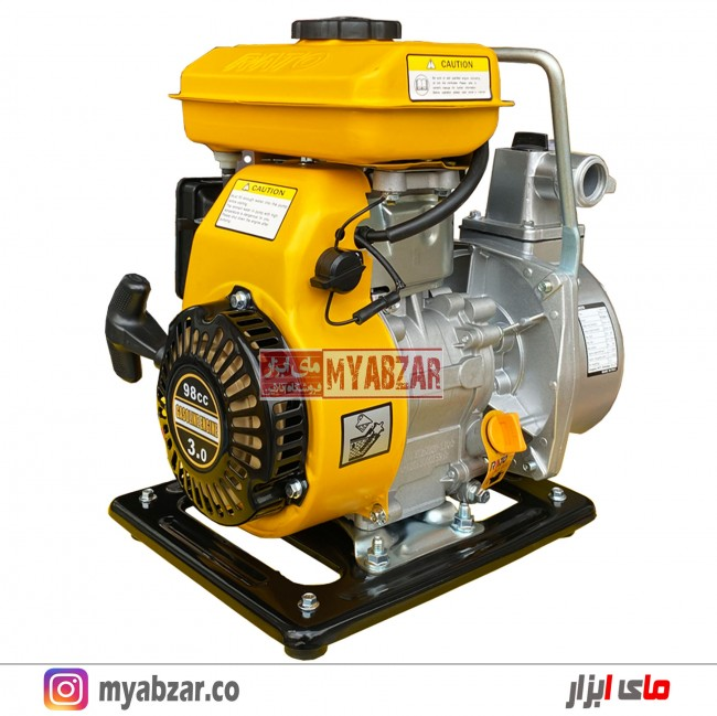 موتور پمپ راتو 1 اینچ مدل RATO RT25ZB20-1.1Q