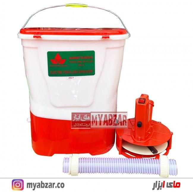دستگاه بذرپاش-کودپاش شارژی میتسوبیشی 20 لیتری