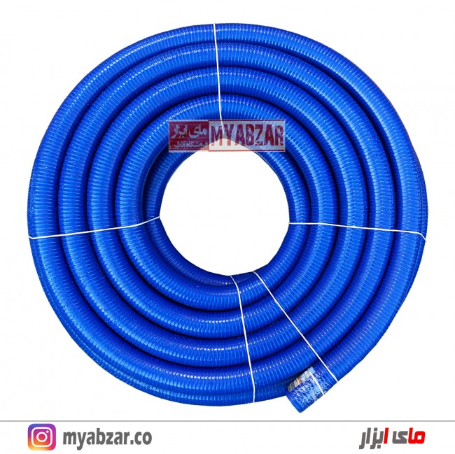 لوله خرطومی 3 اینچ آبی نفتی