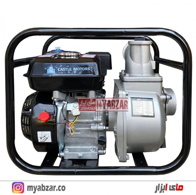 موتور پمپ آب بنزینی کستل 2 اینچ مدل WP-20X