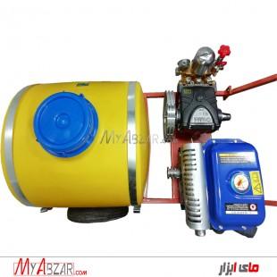 سمپاش فرغونی 100 لیتری یاماها MZ250 با پمپ 50 یاماها