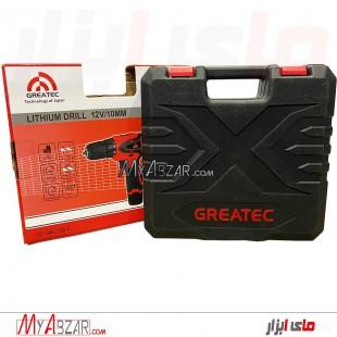 دریل شارژی گریتک مدل GREATEC GTLD12001