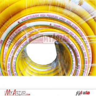 شیلنگ سمپاش 5 لایه میتسوبیشی  100یاردی سایز 10 و ضخامت 5 لایه با تحمل فشار KG 200 ساخت تایلند