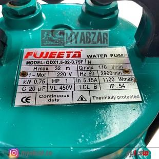 پمپ کفکش 32 متری 1 اینچ فوجیتا مدل QDX1.5-32-0.75F