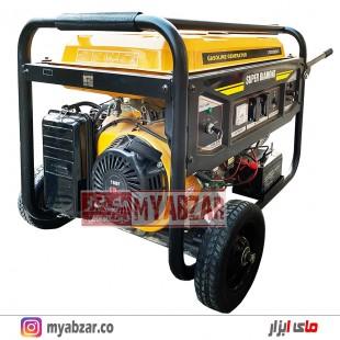 موتور برق دیاموند 6.5 کیلووات مدل SUPER DIAMOND LT-8000EN-5
