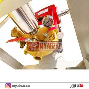 سمپاش تراکتوری 400 لیتری با پمپ 150 بار یاماها مدل YM150