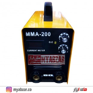 دستگاه جوش 200 آمپر اینورتر لنوکس مدل LENOX MMA-200