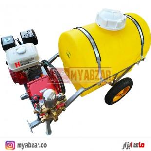 سمپاش فرغونی 200 لیتری موتور هوندا اصلی و پمپ 55 بار