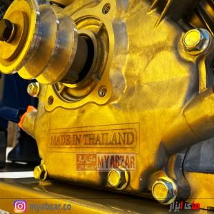 سمپاش فرغونی 100 لیتری موتور کاوازاکی تایلندی 6.5 اسب و پمپ 55 بار یاماها