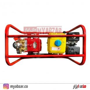 سمپاش زنبه ای موتور نویگیتور 6.5 با پمپ 45 بار دیاموند