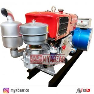 دیزل ژنراتور 15 کیلووات با موتور 20 اسب چانگچای سه فاز