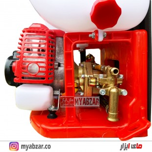 سمپاش موتوری پشتی مورنا مدل morena 3WBS-20D