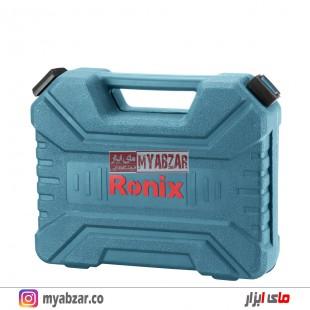 دریل پیچ گوشتی شارژی رونیکس مدل 8018 (دو عدد باتری)