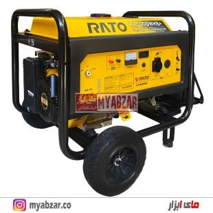 موتور برق راتو 6000 وات مدل +RATO R7500DWHB