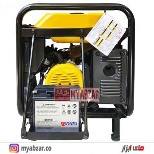 موتور برق راتو 7000 وات مدل +RATO R9500DWHB