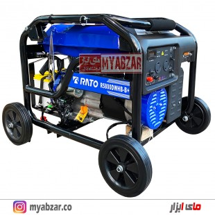 موتور برق استارتی راتو 3000 وات مدل +RATO R5800DWHB-B