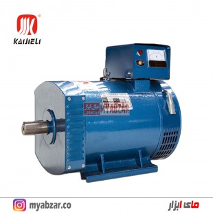 ژنراتور 5 کیلووات تکفاز و سه فاز کایجلی kaijieli generator
