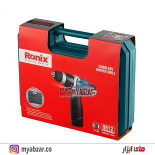 دریل پیچ گوشتی شارژی رونیکس مدل 8812