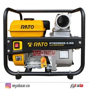 موتور پمپ راتو 3 اینچ مدل RATO RT80ZB28-3.6Q