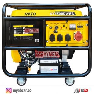 موتوربرق راتو 10 کیلووات مدل RATO R11500DWHB (تکفاز و سه فاز)
