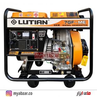 موتور برق گازوئیلی لوتیان 8 کیلووات LUTIAN