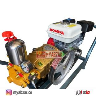 سمپاش موتوری هوندا تایلندی GX160 و پمپ یاماها