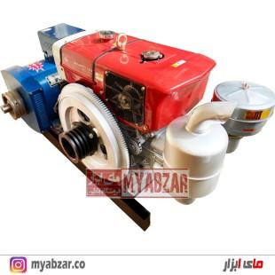دیزل ژنراتور 10 کیلووات با موتور 20/22 اسب تکفاز و سه فاز