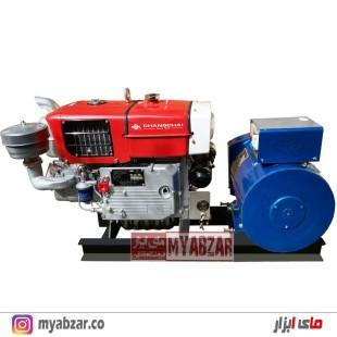 دیزل ژنراتور 12 کیلووات با موتور 20/22 اسب تکفاز و سه فاز