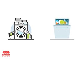 لباسشویی و ظرفشویی پاکشوما