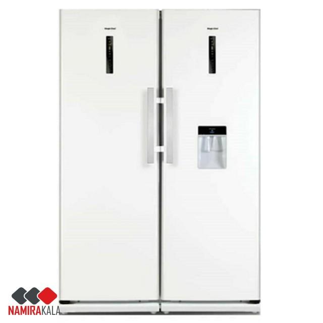 یخچال فریزر دوقلو مجیک شف مدل MCSRY-60180