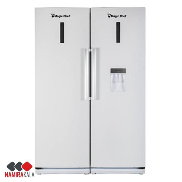 یخچال و فریزر دوقلو مجیک شف مدل MCFDI465