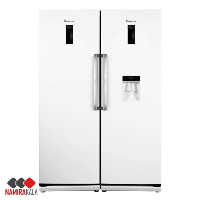 یخچال فریزر دوقلو مجیک شف مدل MCRDI-525 W/S/WL