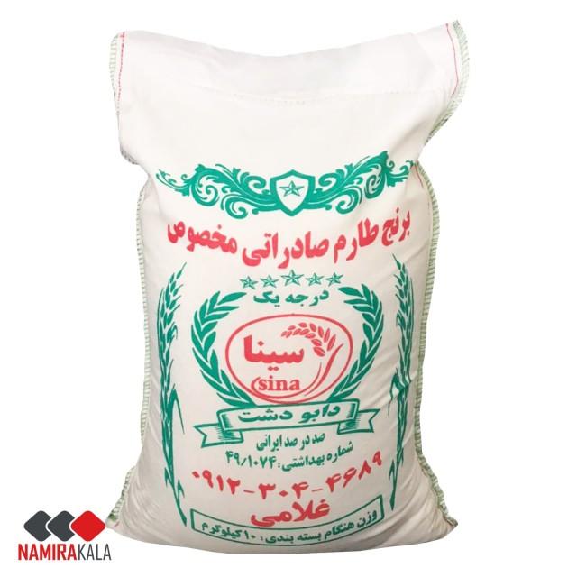 برنج ایرانی طارم فریدونکنار (دابودشت) - 10 کیلو گرم