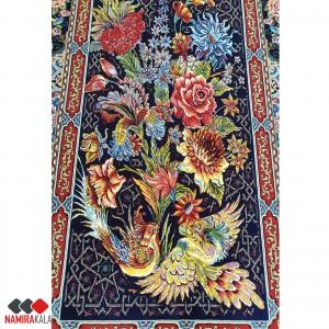 فرش کاشان طرح باغ ارم 1000 شانه