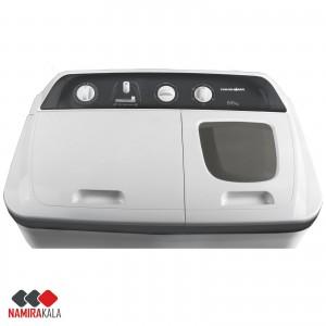 ماشین لباسشویی پاکشوما مدل PWD-9653AJ ظرفیت 9.6 کیلوگرم بدنه فایبر گلاس